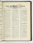 The Missouri Miner, February 11, 1929