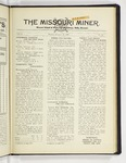 The Missouri Miner, February 18, 1929