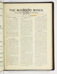 The Missouri Miner, March 18, 1929