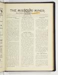 The Missouri Miner, March 25, 1929