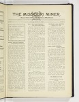The Missouri Miner, October 22, 1929