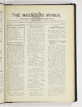 The Missouri Miner, November 12, 1929