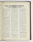 The Missouri Miner, November 19, 1929