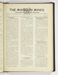 The Missouri Miner, January 14, 1930