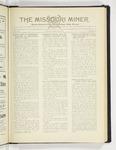 The Missouri Miner, January 28, 1930