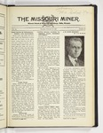The Missouri Miner, February 25, 1930
