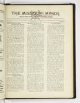 The Missouri Miner, March 27, 1930