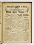 The Missouri Miner, September 29, 1931