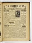 The Missouri Miner, January 12, 1932