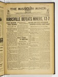 The Missouri Miner, October 25, 1932