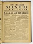The Missouri Miner, November 29, 1932