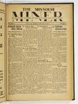 The Missouri Miner, January 24, 1933