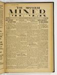 The Missouri Miner, January 31, 1933