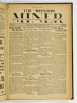 The Missouri Miner, February 21, 1933