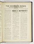 The Missouri Miner, November 11, 1930