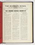 The Missouri Miner, January 13, 1931