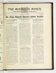 The Missouri Miner, March 31, 1931