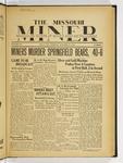 The Missouri Miner, October 31, 1933
