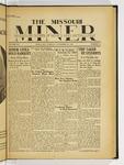 The Missouri Miner, November 28, 1933