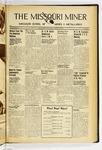 The Missouri Miner, January 19, 1938
