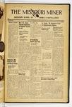 The Missouri Miner, May 25, 1938