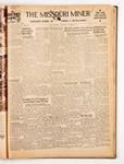 The Missouri Miner, November 16, 1938