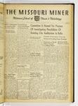 The Missouri Miner, November 15, 1939