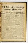 The Missouri Miner, March 25, 1941