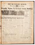The Missouri Miner, December 11, 1946