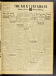 The Missouri Miner, October 15, 1947