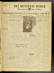 The Missouri Miner, November 19, 1947