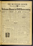 The Missouri Miner, October 29, 1948