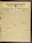 The Missouri Miner, October 21, 1949