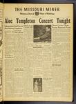 The Missouri Miner, October 28, 1949