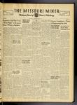 The Missouri Miner, January 13, 1950