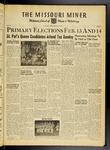 The Missouri Miner, February 10, 1950