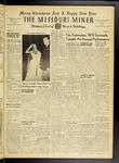 The Missouri Miner, December 15, 1950