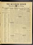 The Missouri Miner, May 11, 1951