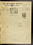 The Missouri Miner, September 28, 1951