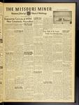 The Missouri Miner, October 26, 1951