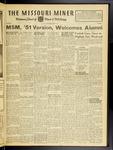 The Missouri Miner, November 02, 1951