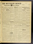The Missouri Miner, November 30, 1951