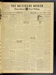 The Missouri Miner, March 21, 1952