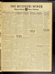 The Missouri Miner, October 10, 1952