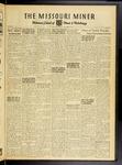 The Missouri Miner, November 14, 1952