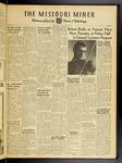 The Missouri Miner, October 30, 1953