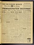 The Missouri Miner, November 20, 1953