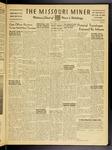 The Missouri Miner, February 19, 1954