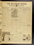 The Missouri Miner, November 12, 1954