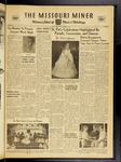 The Missouri Miner, March 25, 1955